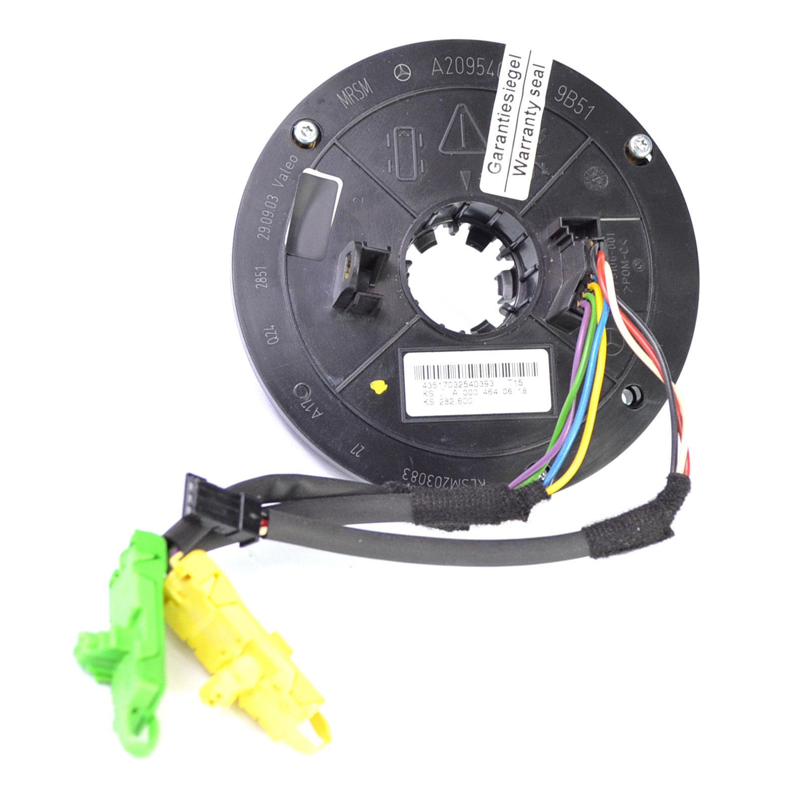 MB R170 Schleifring 0025426518 Lenkwinkelsensor Wickelfeder ohne Multifunktion